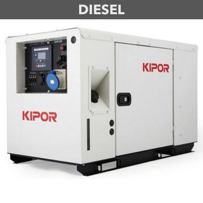 generador inverter diesel digital kipor id10