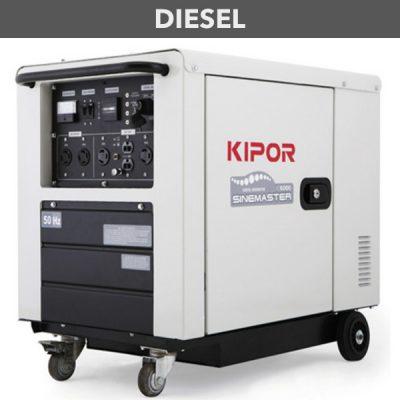 generador inverter diesel digital kipor id6000