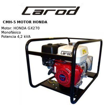 generadores electricos carod cmh5 honda