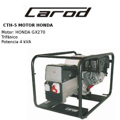generadores electricos carod cth5 honda