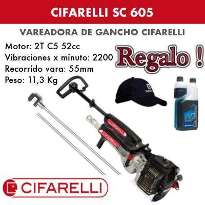 Vareadora de aceitunas Cifarelli SC 605