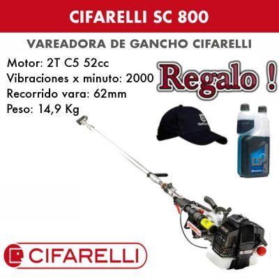 Vareadora de aceitunas Cifarelli SC 800