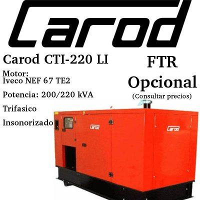 Generador-electrico-Carod-CTI-220-LI-Trifasico-Insonorizado