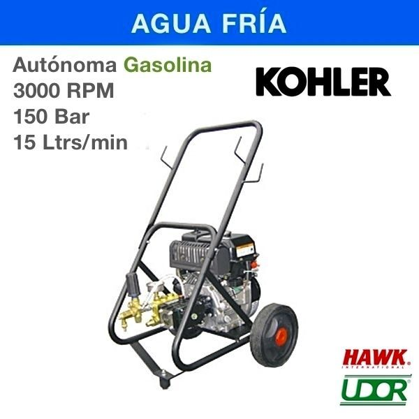 Hidrolimpiadora Carod AUT-1515K Gasolina 3000RPM