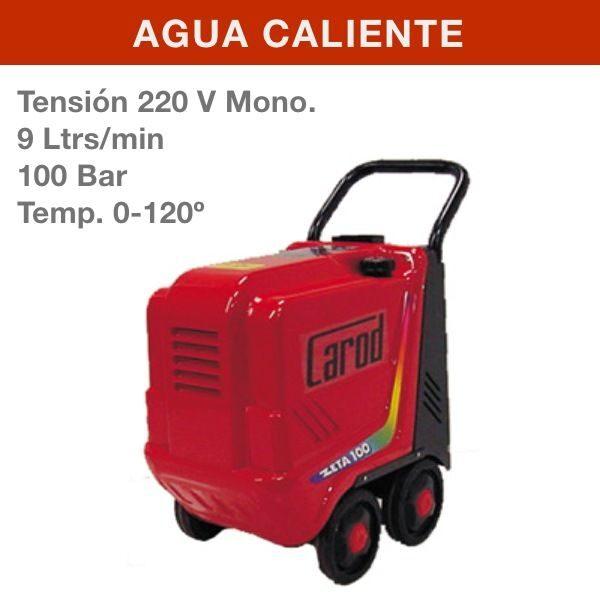 Hidrolimpiadora Carod ACZ-100 Agua Caliente Monofásica