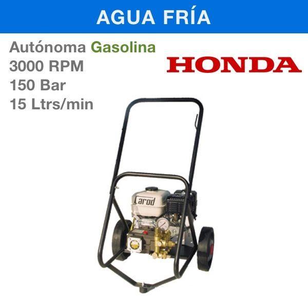 Hidrolimpiadora Carod AUT-1515H Gasolina 3000RPM