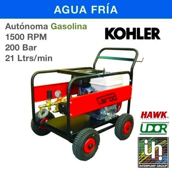 Hidrolimpiadora Carod AUT-2021LK Gasolina 1500RPM