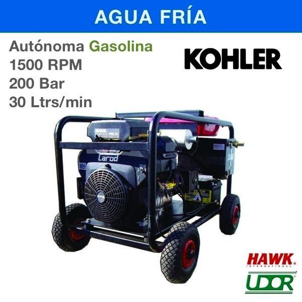 Hidrolimpiadora Carod AUT-2030LK Gasolina 1500RPM
