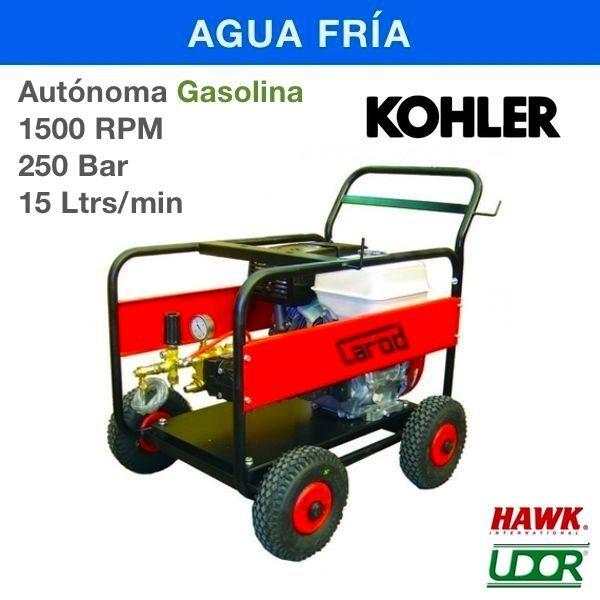 Hidrolimpiadora Carod AUT-2515LK Gasolina 1500RPM