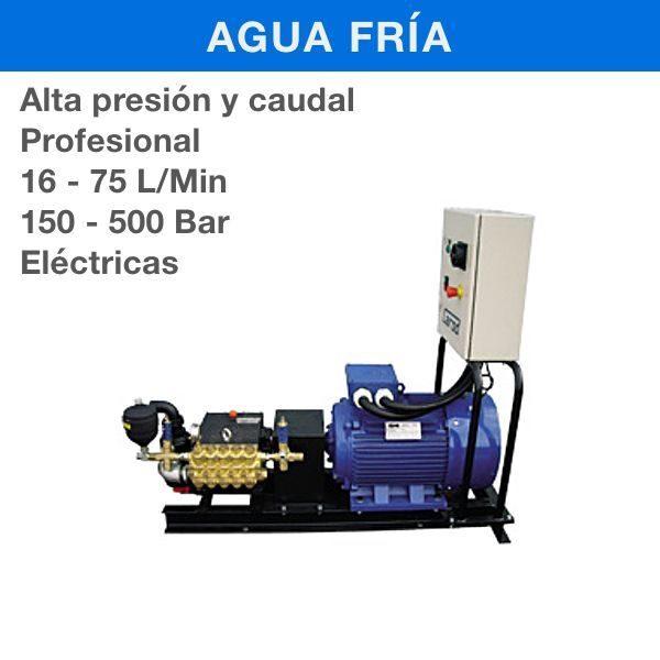 Hidrolimpiadora de Alta Presion y Caudal Carod