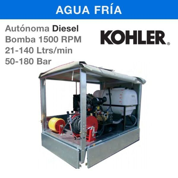 Hidrolimpiadoras Carod AUTED Estacionarias Diesel