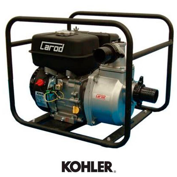 Carod BKC-4X Motorpumpe Kohler 9,5 PS Motor, 100 m³/h.