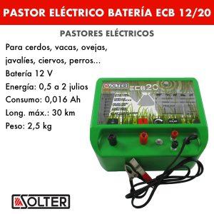 Pastor bateria Solter ECB 12:20 C LED