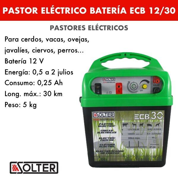 Pastor bateria Solter ECB12:30 B