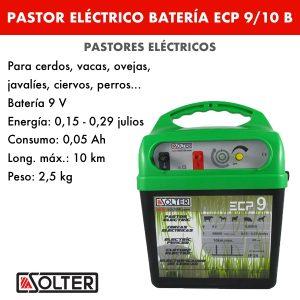 Pastor eléctrico bateria Solter ECP9:10 B
