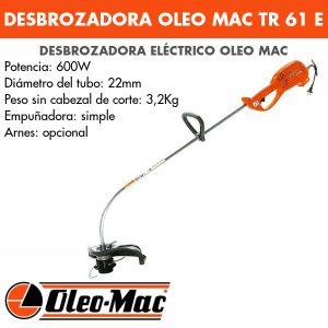 Desbrozadora Oleo Mac TR 61 E