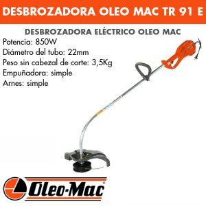 Desbrozadora Oleo Mac TR 91 E