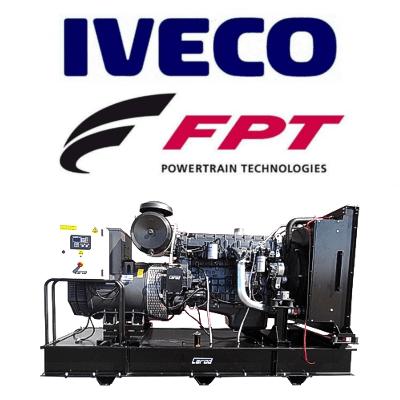 Grupos Electrógenos Abiertos Carod Motor Iveco