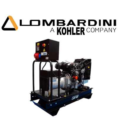 Grupos Electrógenos Carod Motor Lombardini