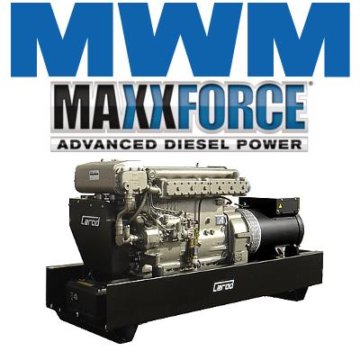 Generadores Abiertos Motor MWM MaxxForce