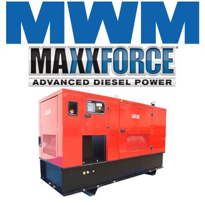 Grupos Electrógenos Insonorizados motor MWM MaxxForce