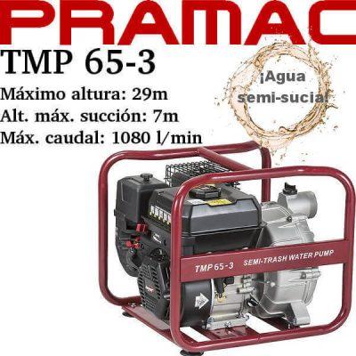 comprar motobomba pramac tmp 65-3