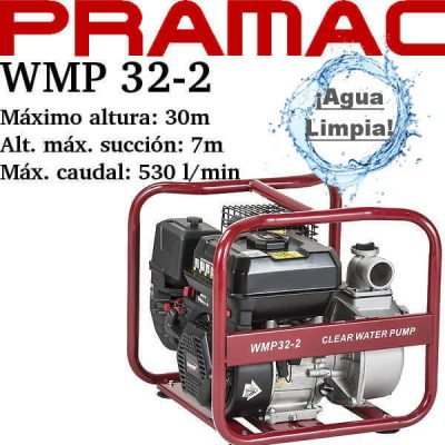 comprar motobomba pramac wmp 32-2