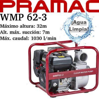 comprar motobomba pramac wmp 62-3
