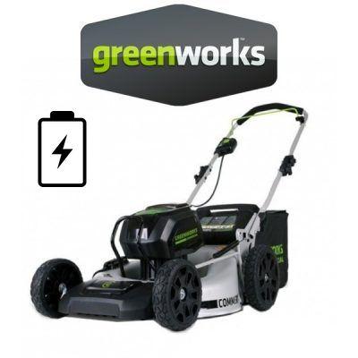 Cortacéspedes Greenworks Batería