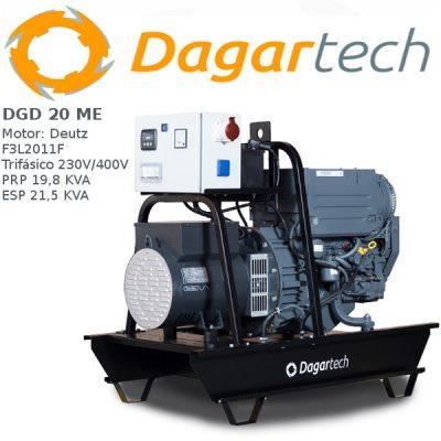 Generador electrico 1500rpm Dagartech dgd 20 me