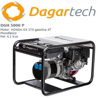 Generador electrico Dagartech DGH 5000 P