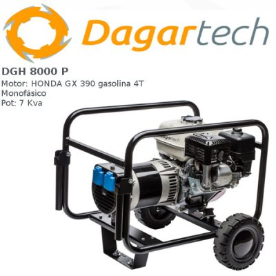 Generador electrico Dagartech DGH 8000 P