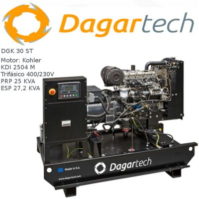 Generador electrico 1500rpm Dagartech DGK 30 ST