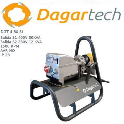 Generador electrico toma fuerza tractor Dagartech DGT 4-30 SI