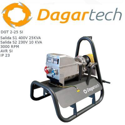 Generador electrico toma fuerza tractor Dagartech DGT 2-25 SI