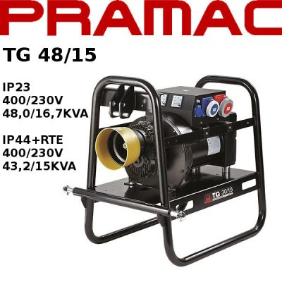 generador electrico toma fuerza tractor Pramac TG48/15