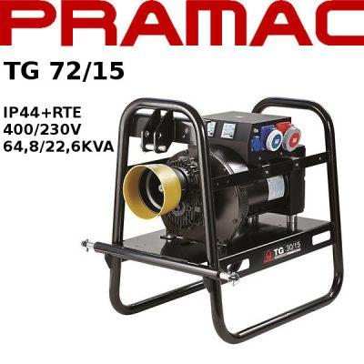 generador electrico toma fuerza tractor Pramac TG72/15