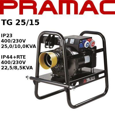 Generador electrico toma fuerza tractor Pramac TG25/15