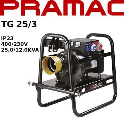 Generador electrico toma fuerza tractor Pramac TG25/3