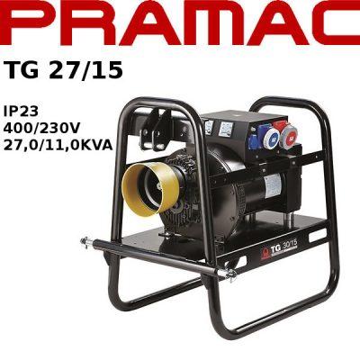 Generador electrico toma fuerza tractor Pramac TG27/15