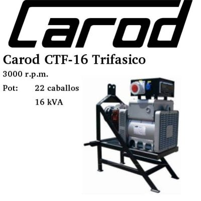 toma fuerza tractor Carod CTF-16