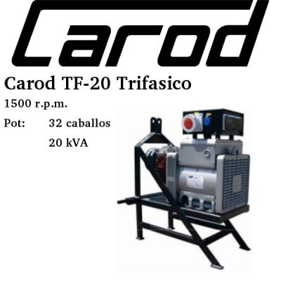 toma fuerza tractor Carod TF-20