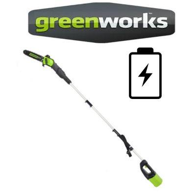 Podadoras de altura Greenworks Batería