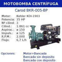 comprar Motobomba centrifuga Carod BKR-005-BP