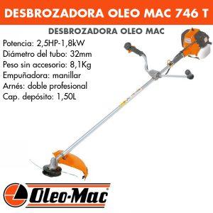 Desbrozadora Oleo Mac 746 T