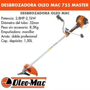 Desbrozadora Oleo Mac 755 MASTER