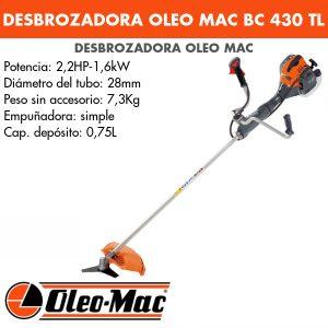 Desbrozadora Oleo Mac BC 430 TL