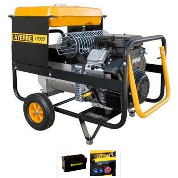 Generador electrico Ayerbe  AY 16000 V TX E