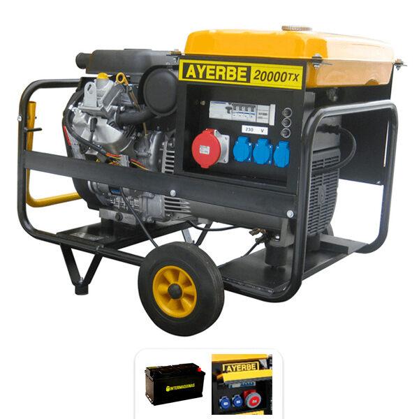 Generador eléctrico Ayerbe AY 20000 V TX E