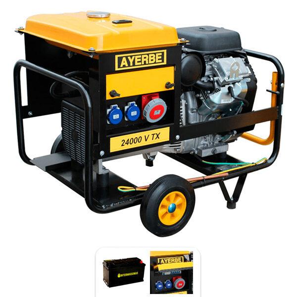 Generador eléctrico Ayerbe AY 24000 V TX E